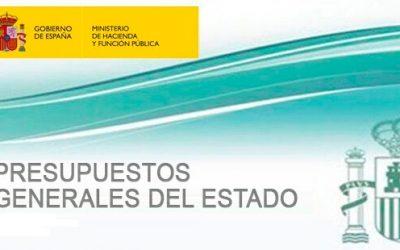 Aspectos sociales de la Ley Presupuestos Generales del Estado para 2018