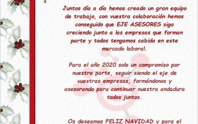 ¡EJE ASESORES LES DESEA FELICES FIESTAS!